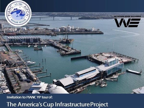 YP NZ - America's Cup Infrastructure Project Tour -16 Oct 2019 - Auckland